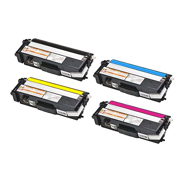 Brother Compatible Toner Cartridges (Pack of 4)
