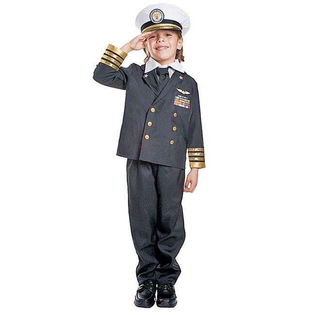 Dress Up America Boys' 'Navy Admiral' Costume (Toddler 4)...