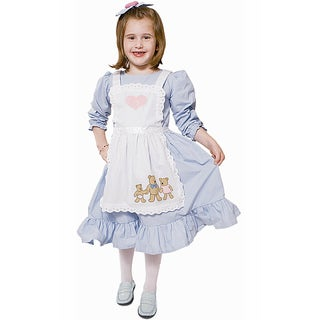 Dress Up America Girls' 'Goldilocks' Costume
