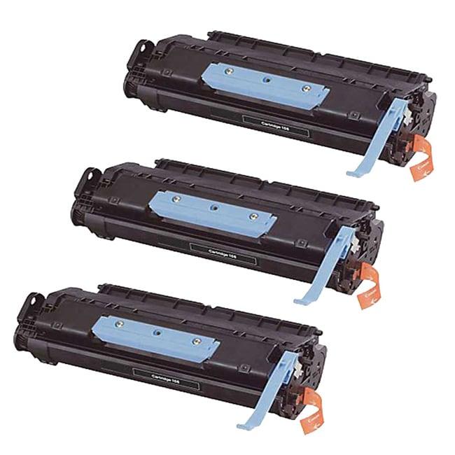 Canon 106 0264B001AA Compatible Black Toner Cartridges (Set of 3)