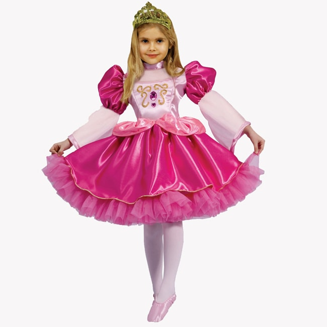 Dress Up America Girls' 'Graceful Ballerina' Costume - Thumbnail 0