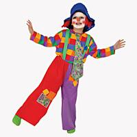 Dress Up America Boys' 'Colorful Clown' Costume - Multi