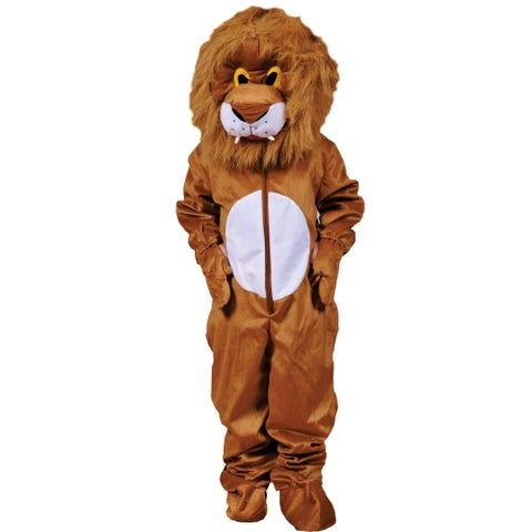 Dress Up America Kids' 'Plush Lion' Costume