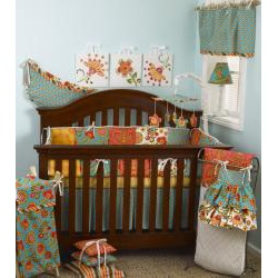 Cotton Tale Gypsy Fitted Crib Sheet