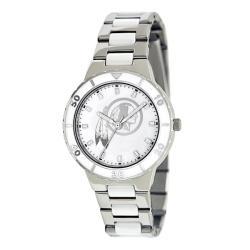 Game Time Women's Washington Redskins Logo Pearl Watch