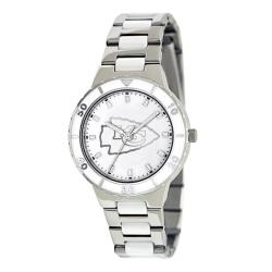 Game Time Women's Kansas City Chiefs Logo Pearl Watch