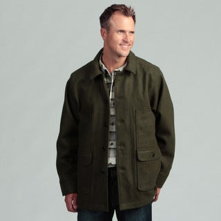 Stormy Kromer Men's Wool Mackinaw Coat