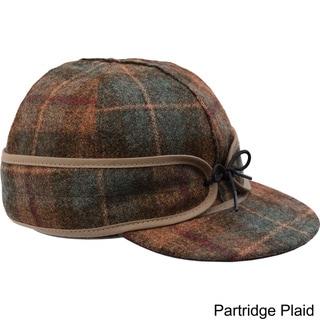 Stormy Kromer Adjustable Earband Original Wool Cap with Brim