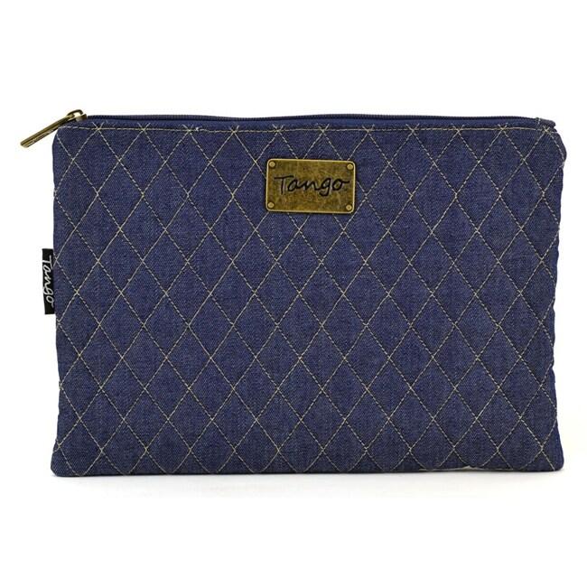 Tango Quilted Denim Travel Utility Bag