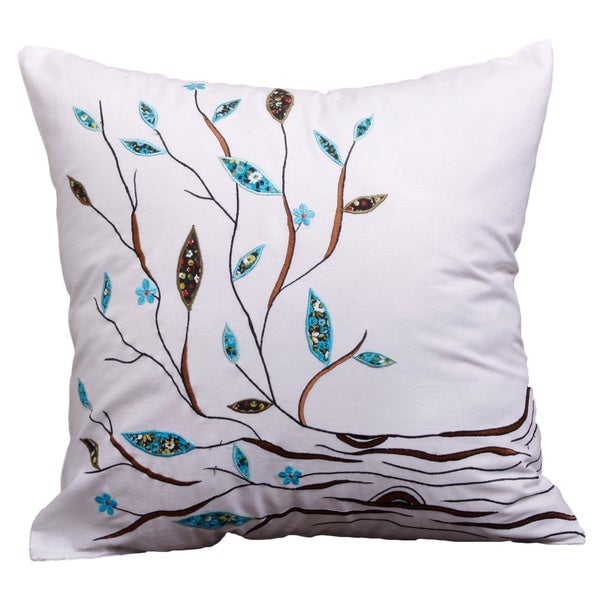 Tree of Life Cushion Cover , Handmade in India