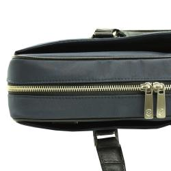 Victorinox Swiss Army Luxor Slimline Navy Briefcase Laptop Tote - Thumbnail 1