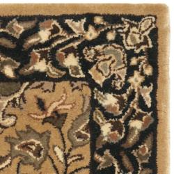 Safavieh Handmade Persian Legend Multi/ Black Wool Rug (2' x 3')