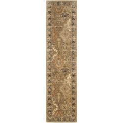 Safavieh Handmade Persian Legend Multi/ Black Wool Rug (2'6 x 10')