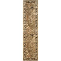 Safavieh Handmade Persian Legend Multi/ Black Wool Rug (2'6 x 12')