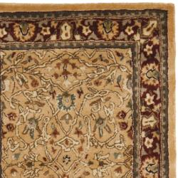 Safavieh Handmade Persian Legend Ivory/ Rust Wool Rug (2'6 x 12')