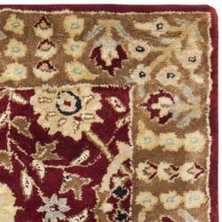 Safavieh Handmade Persian Legend Red/ Light Brown Wool Rug (2' x 3')
