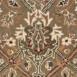 Safavieh Handmade Persian Legend Light Green/ Beige Wool Rug (2'6 x 5' Hearth)