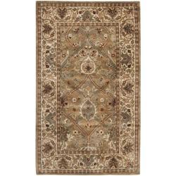 Safavieh Handmade Persian Legend Light Green/ Beige Wool Rug (3' x 5')