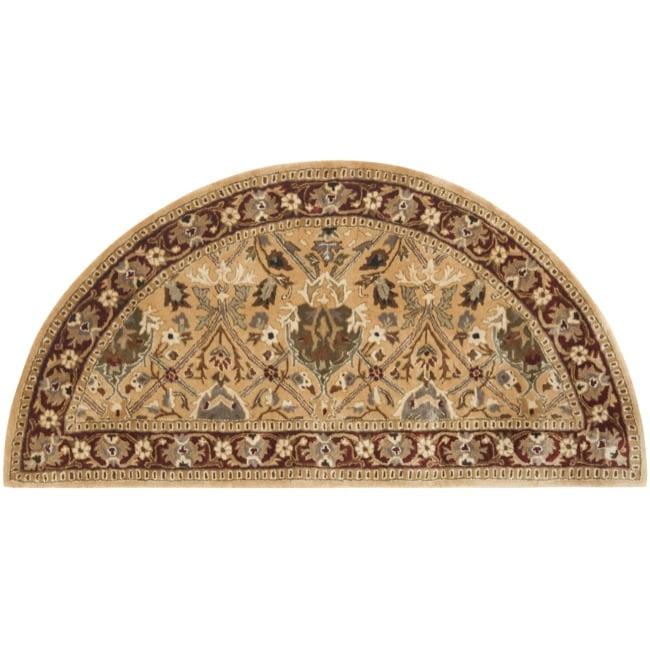 Safavieh Handmade Persian Legend Ivory/ Rust Wool Rug (2'6