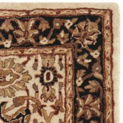Safavieh Handmade Persian Legend Ivory/ Black Wool Rug (2'6 x 4') - Thumbnail 1