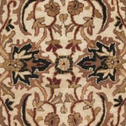 Safavieh Handmade Persian Legend Ivory/ Black Wool Rug (2'6 x 4') - Thumbnail 2