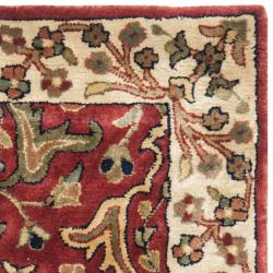 Safavieh Handmade Persian Legend Red/Ivory New-Zealand Wool Rug (2' x 3') - Thumbnail 1
