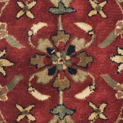 Safavieh Handmade Persian Legend Red/Ivory New-Zealand Wool Rug (2' x 3') - Thumbnail 2