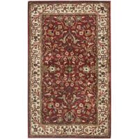 Safavieh Handmade Persian Legend Red/ Ivory Wool Rug - 2'6 x 4'