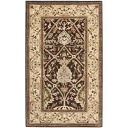 Safavieh Handmade Persian Legend Brown/ Beige Wool Rug (3' x 5')