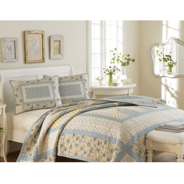 Laura Ashley Hadleigh 3-piece Quilt Set