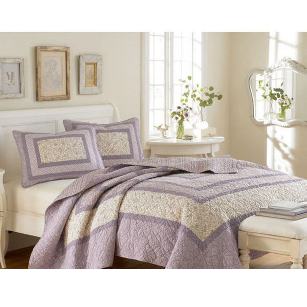 Laura Ashley Addison 3-piece Quilt Set