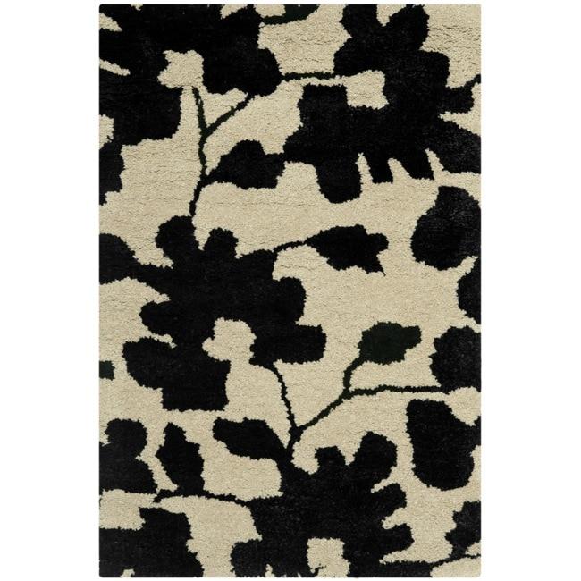 Safavieh Handmade Shadows Beige New Zealand Wool Area Rug (2' x 3')