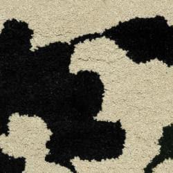 Safavieh Handmade Shadows Beige New Zealand Wool Area Rug (2' x 3') - Thumbnail 2