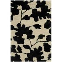 Safavieh Handmade Shadows Beige New Zealand Wool Area Rug - 2' x 3'