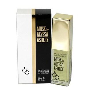 Alyssa Ashley Musk Women's 1.7-ounce Eau de Toilette Spray