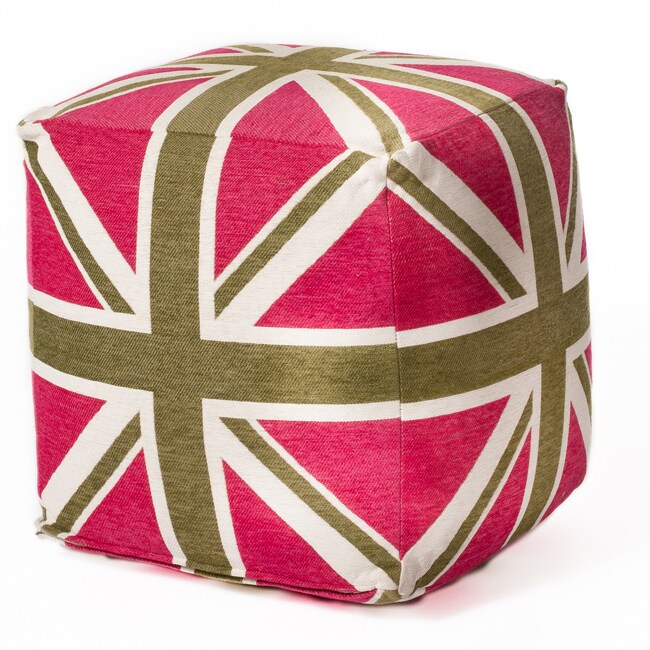 Union Jack 18-inch Beanbag Cube