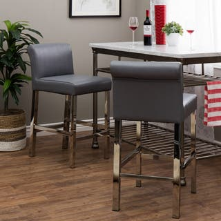 Leather Counter Amp Bar Stools For Less Overstock