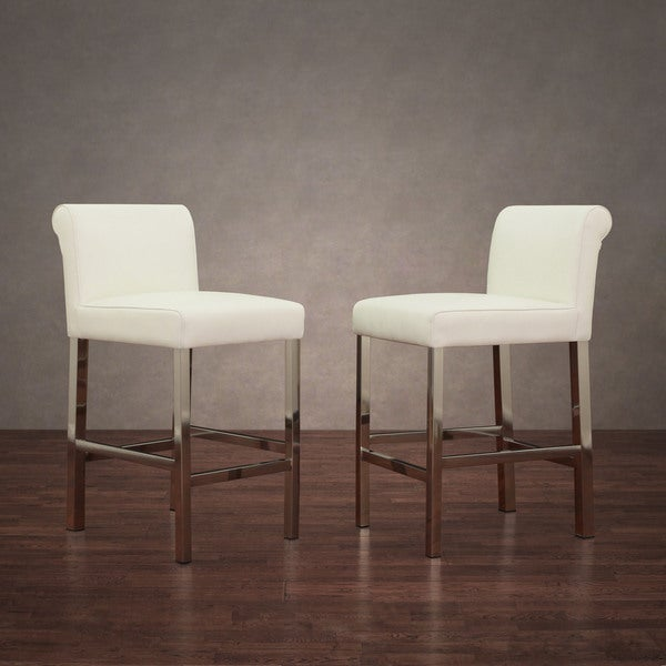white wood swivel counter stools height canada with rush seat cosmopolitan stainless steel snake leather set
