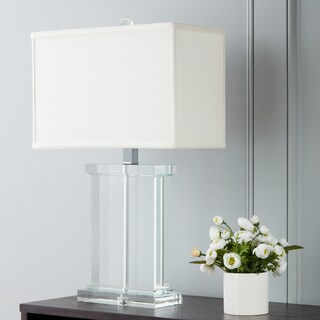 Crystal Rectangular White Shade Table Lamp|https://ak1.ostkcdn.com/images/products/6911434/P14430975.jpg?_ostk_perf_=percv&impolicy=medium