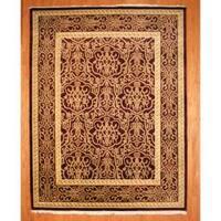 Handmade Herat Oriental Indo Tibetan Wool Rug - 9'1 x 11'9 (India)