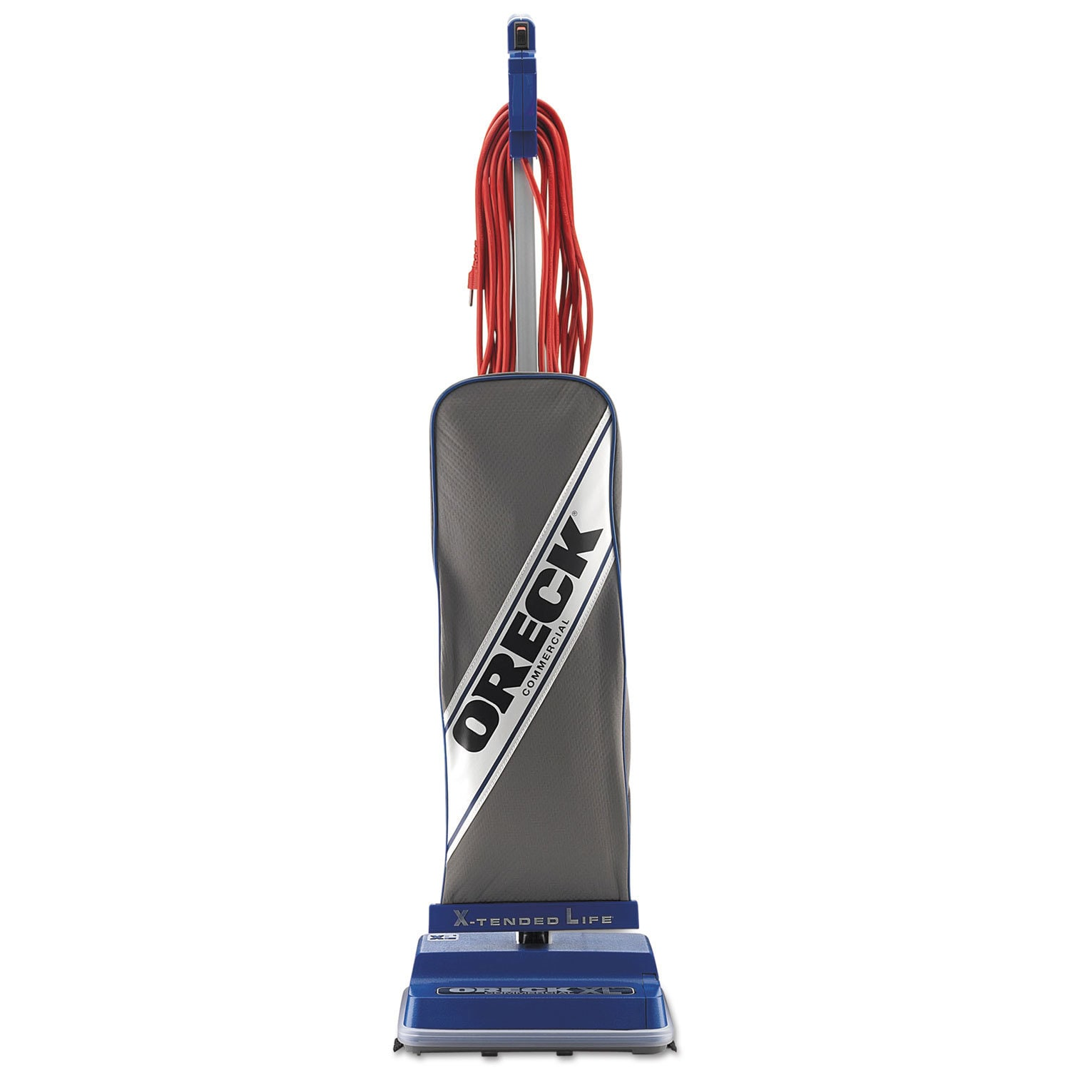 Oreck Commercial Helping Hand Handle Upright Vacuum, Blue...