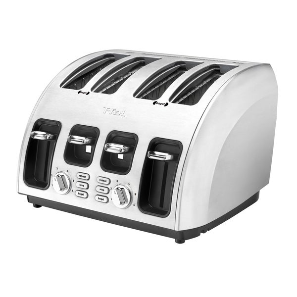 Shop T Fal Avante Icon 4 Slice High Speed Toaster Free