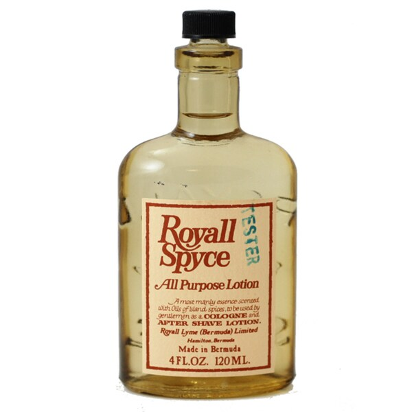 Royall Spyce Of Bermuda Men's 4-ounce All Purpose Lotion (Tester)