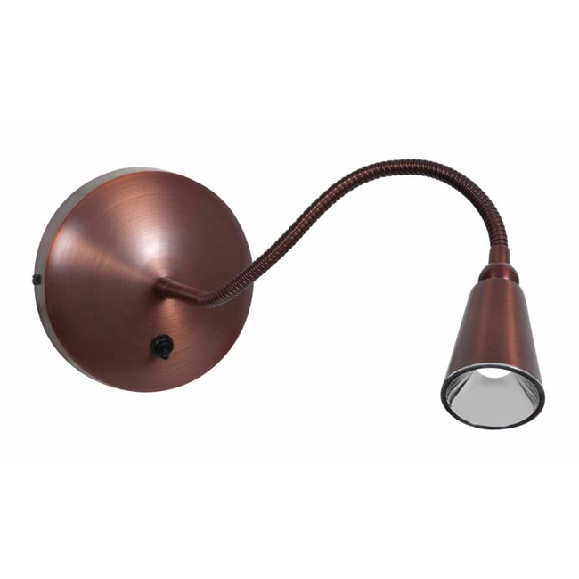 Access 'Goosneck' Bronze 1-light LED Wall Lamp