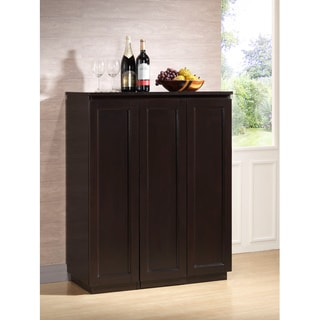 Baltimore Dark Brown Modern Bar Cabinet