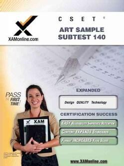 Cset Art Sample Subtest 140 (Paperback)