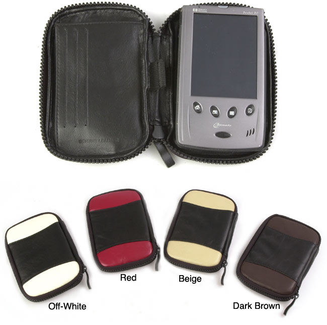 Amerileather Multicolored Leather Handheld Case