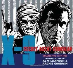 X-9 Secret Agent Corrigan 5: 1977-1980 (Hardcover)