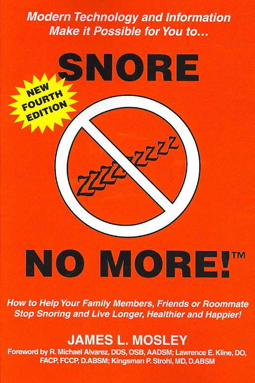 Snore No More (Paperback)
