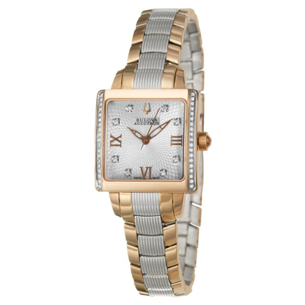 Bulova Accutron Women's 'Masella' Rose-gold Watch